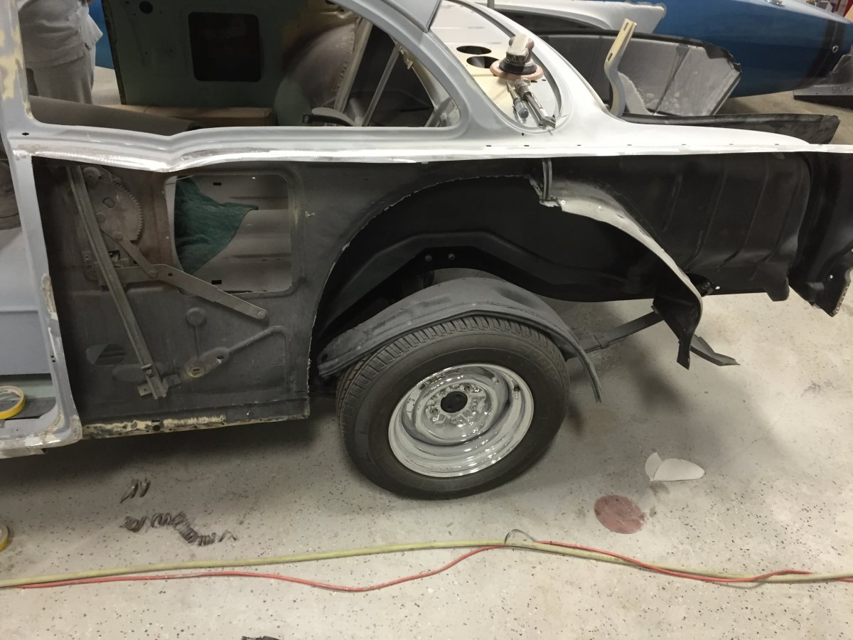 Technical 57 Chevy Inner Quarter Replacement The H A M B