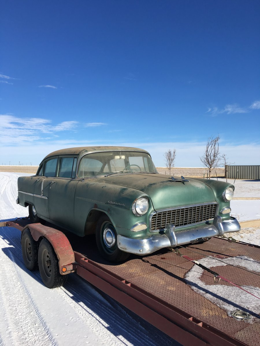1955 chevrolet four door sedan 55 chevy the h a m b for 1955 chevy 4 door for sale