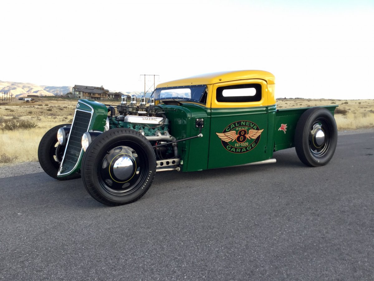 1936 International Harvester Traditional Style Hot Rod Pickup ...