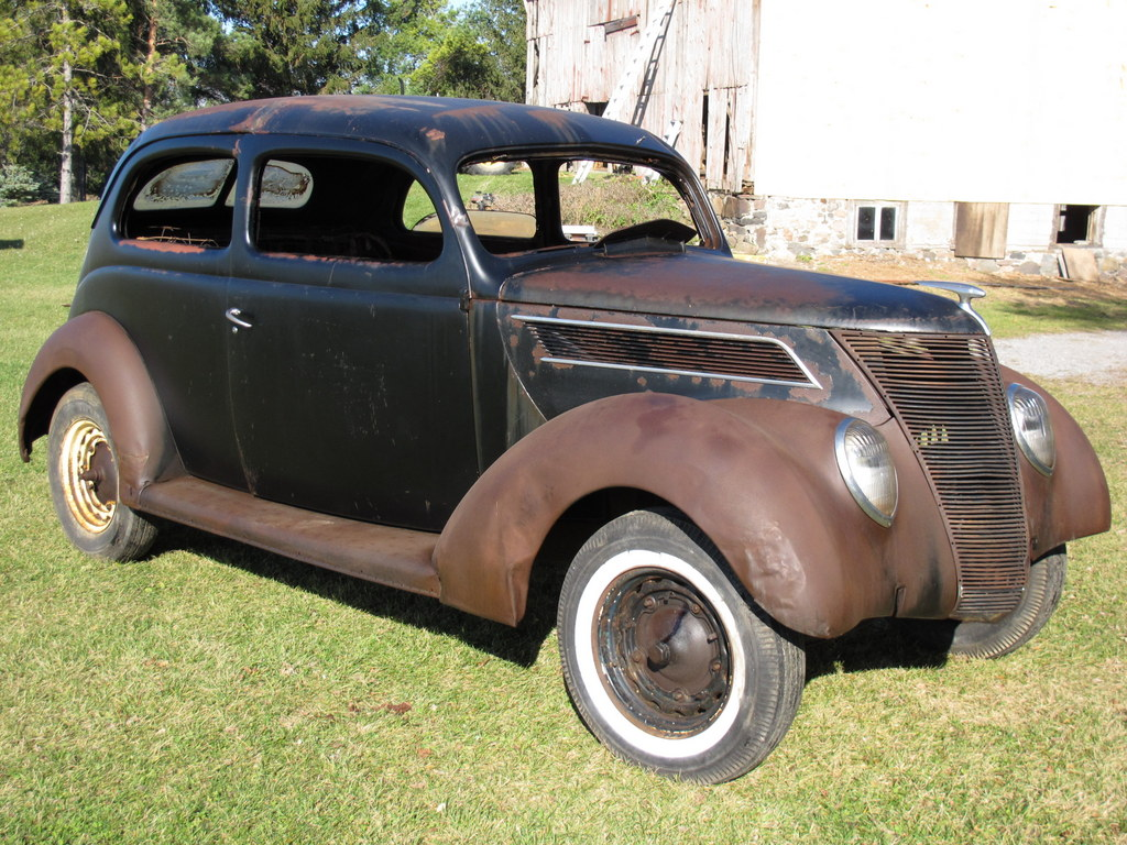 1937 ford 2 door slantback sedan the h a m b for 1937 ford two door sedan