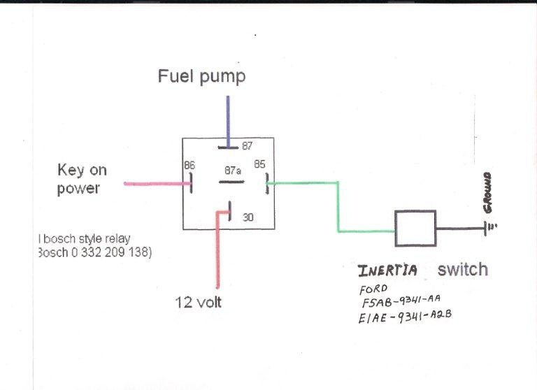 Electric Fuel Pump In A Daily Driver The Hambrhjalopyjournal: Carter Fuel Pump Wiring Diagram At Gmaili.net