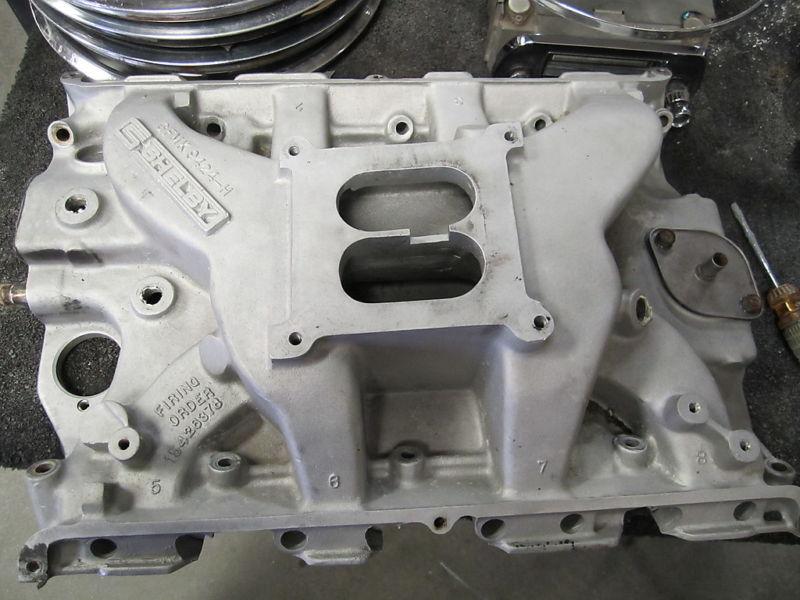 int FORD marked FE  SIDEWINDER  Medium Riser Aluminum Intake Manifold.3 SHELBY.jpg