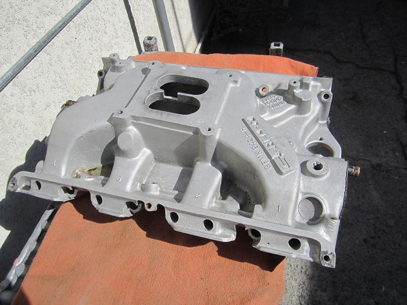 int FORD marked FE  SIDEWINDER  Medium Riser Aluminum Intake Manifold.4 SHELBY.jpg