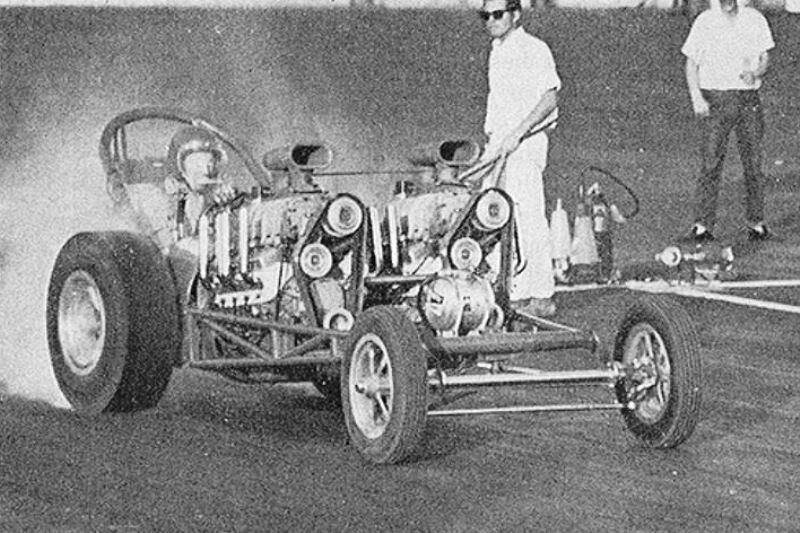 Jack Moss (Amarillo, TX) #171 (Twin GMC-blown SBC) Dragster (3).JPG