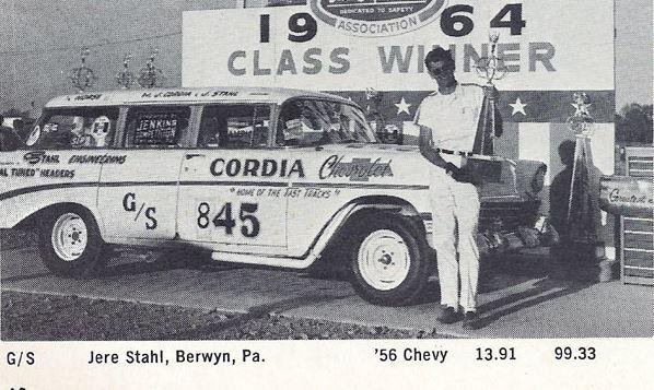 Jere Stahl Cordia class winner 1964 at indy.JPG