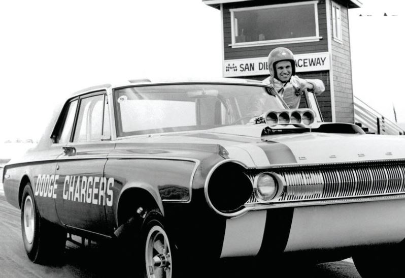 Jimmy Nix & Jim Johnson Dodge Chargers.JPG