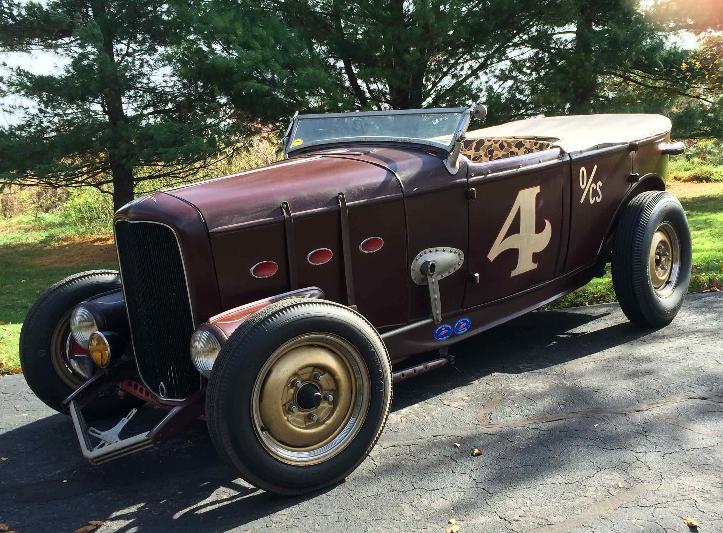 1932 Ford Phaeton and 5W Hot Rods. Matching Pair of Well Known and ...
