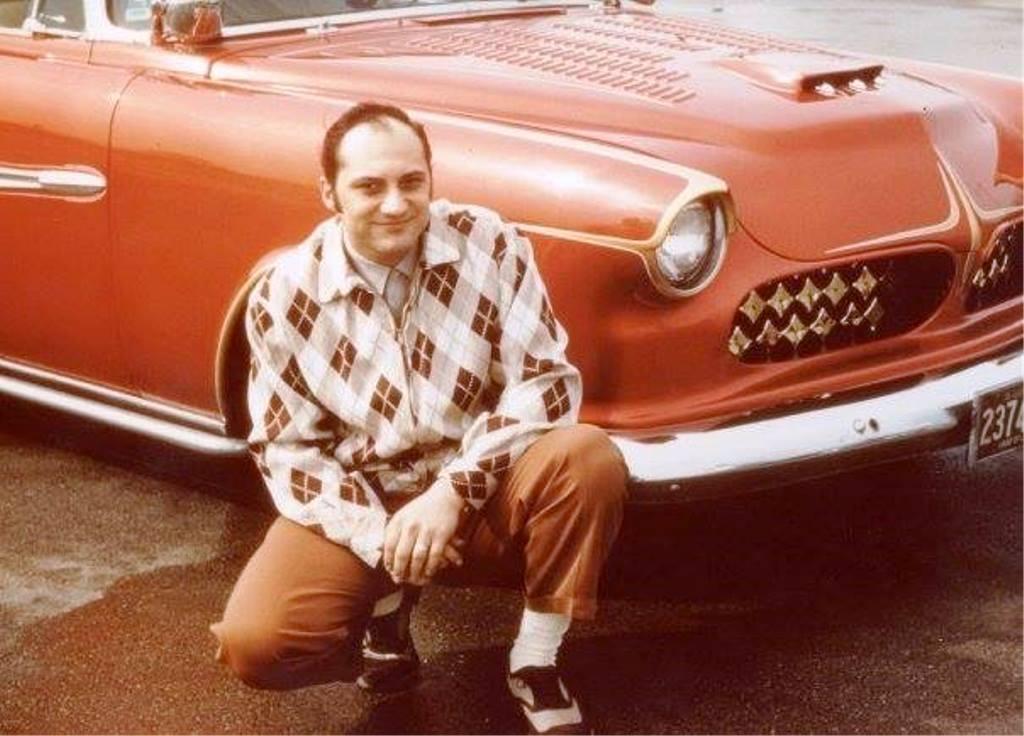John Anton Jr  with his Customized 1955 Dodge.jpg