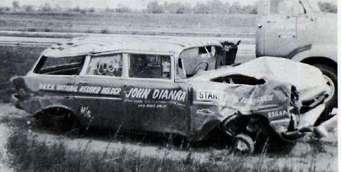John Dianna the aftermath of the crash.JPG