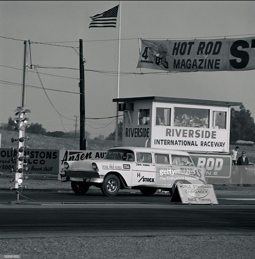 John Dianna's HStock 1956 Chevrolet Wagon leaves the starting line.JPG