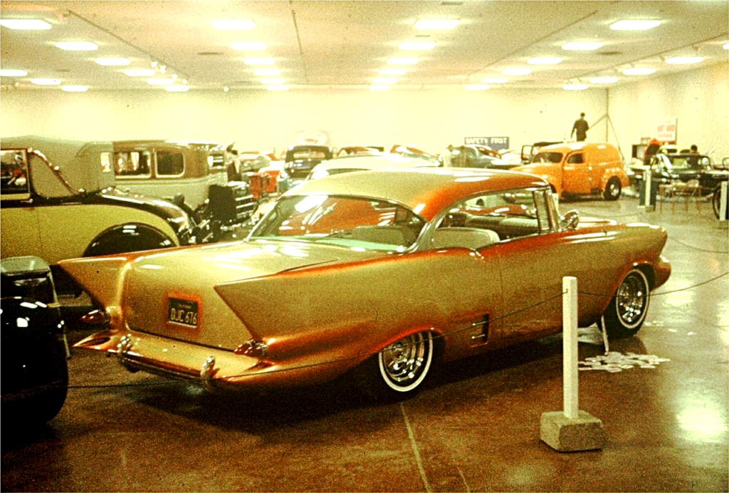 John Gomez '57 BelAir Custom (by Bailon & Winfield) at '63 show.jpg