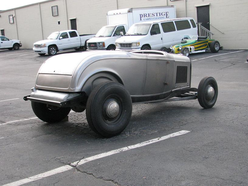SOLD 1932 Ford Roadster Project Original Chassis