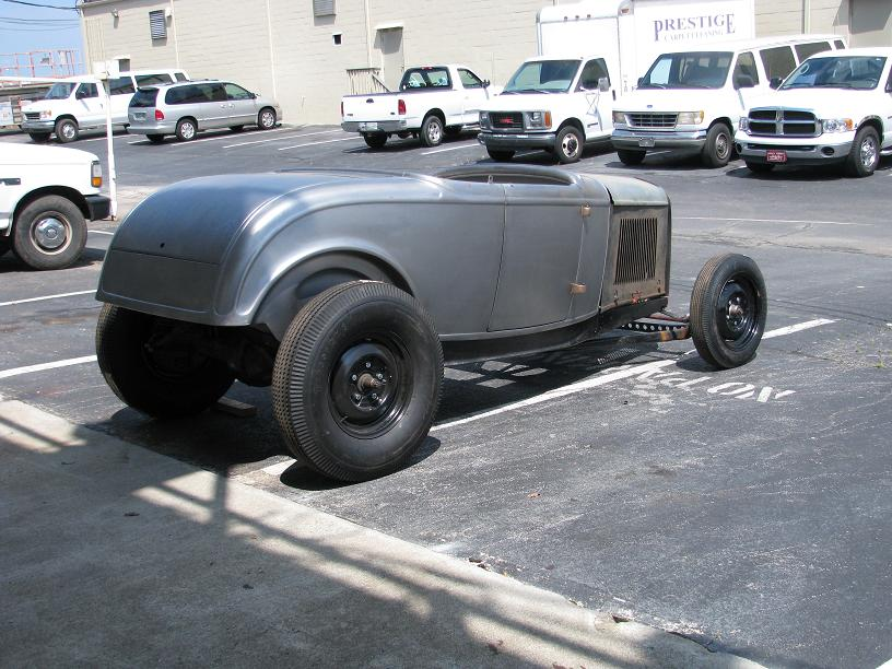 1932 Ford Roadster Project Brookville Body Original Chassis