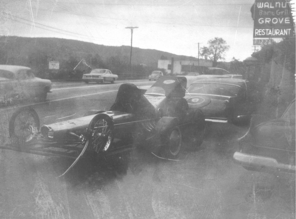 Karamesines Chizler in front of the watering hole near York Dragway.  .jpg