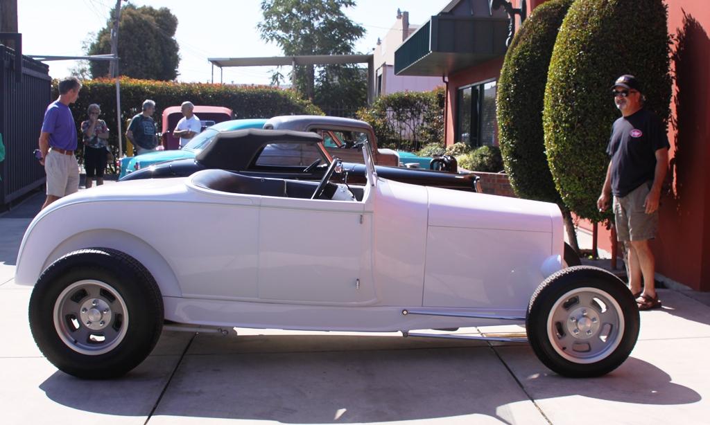 Karpo and Lil\' John\'s \'29 Roadster @ Speed Nymph Garage (Aug 20, 2013).JPG