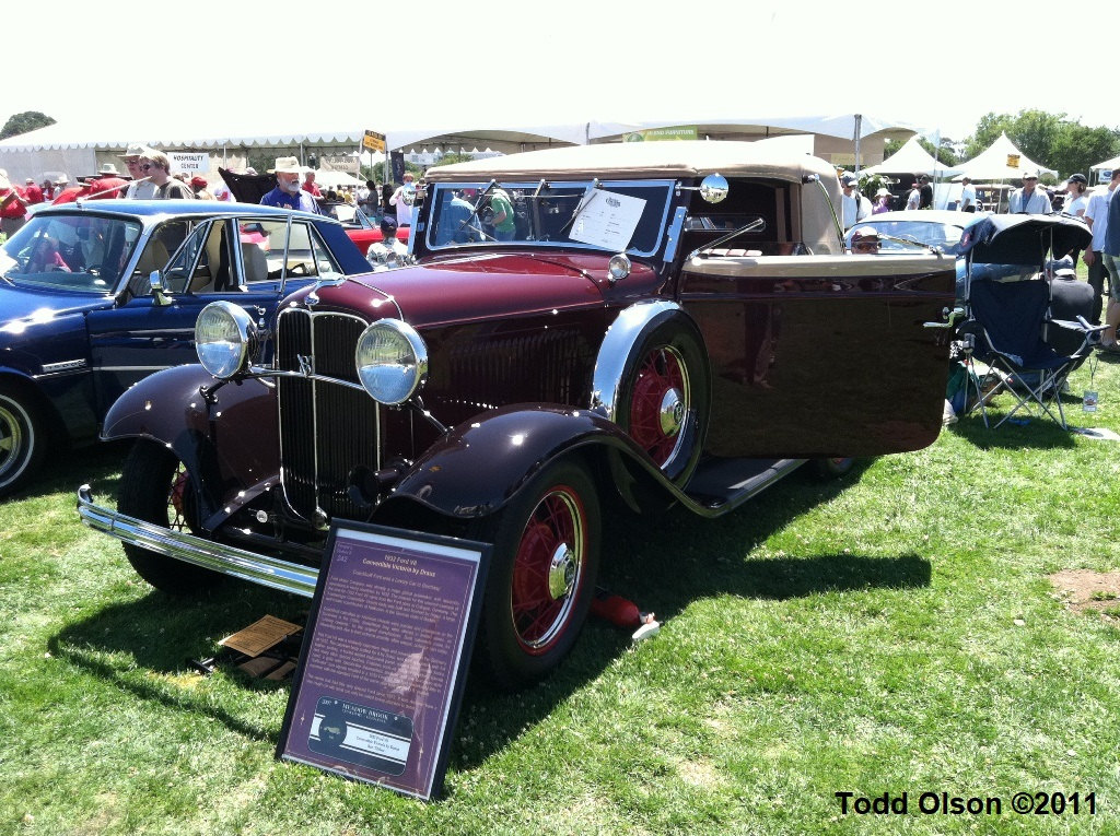 Ken Tibbot's 1932 Ford V8 Convertible Victoria with coachwork by Drauz (1).jpg