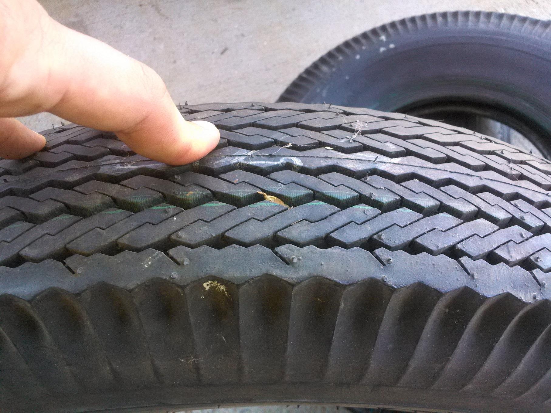4 Firestone 6.70-15 Blackwall Tires | The H.A.M.B.