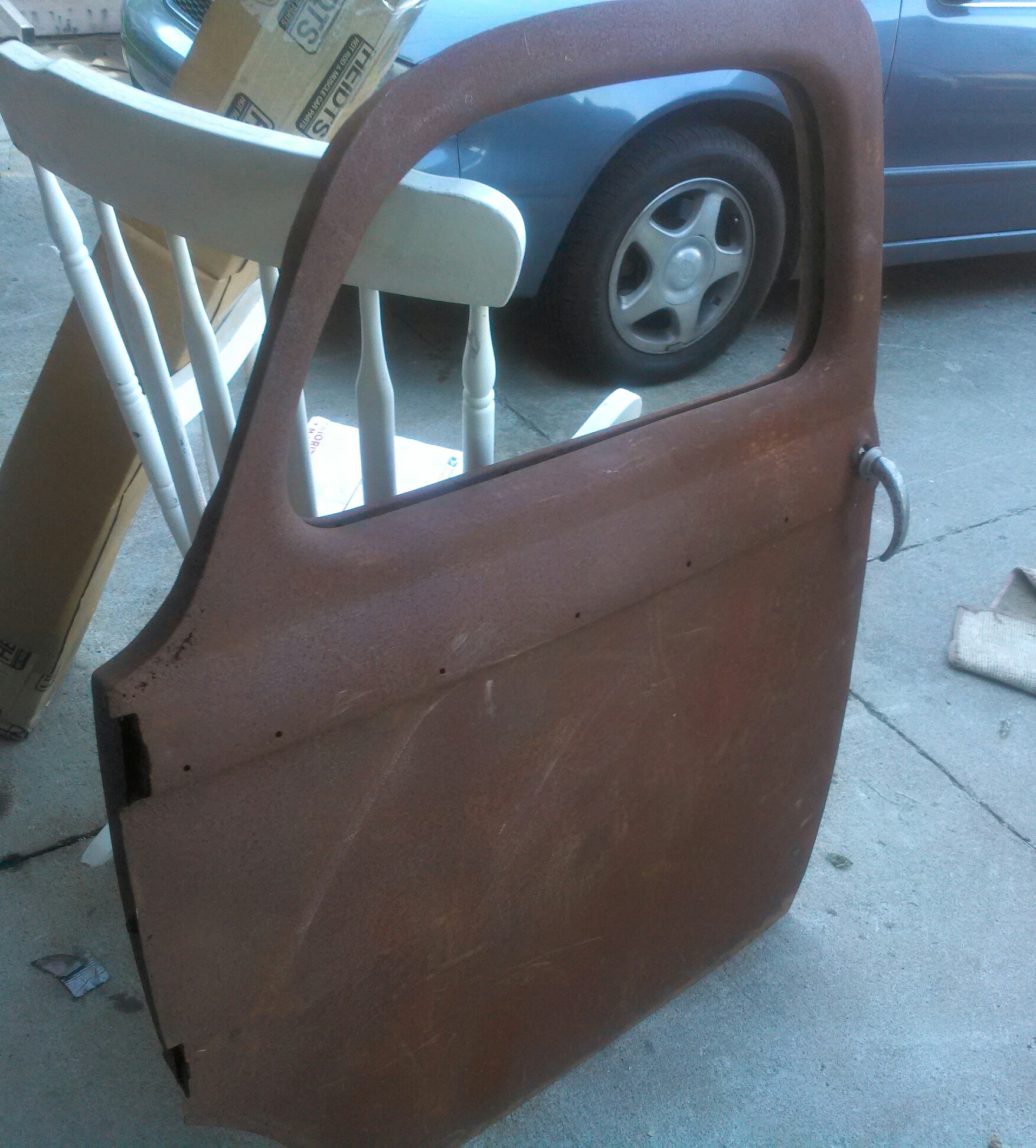 1940 1941 Willys Pickup Truck Drivers Door The H A M B