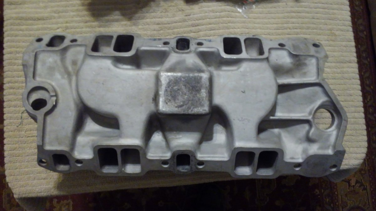 Weiand Say-Why-And SBC Aluminum Intake   The H A M B
