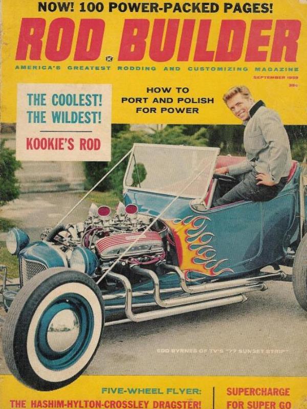 Kookie Kar on cover of September 1959 Rod Builder.jpg