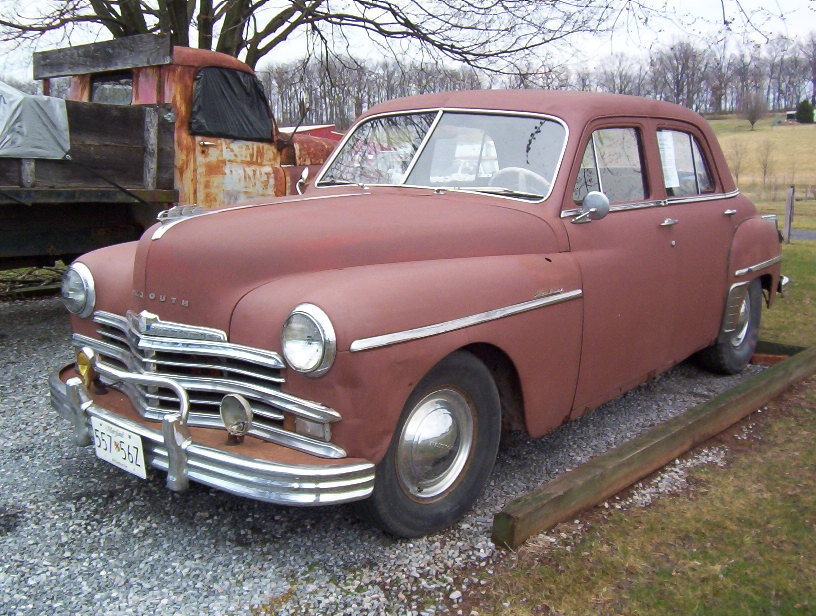 1949 plymouth special deluxe 4 door the h a m b for 1949 plymouth 4 door