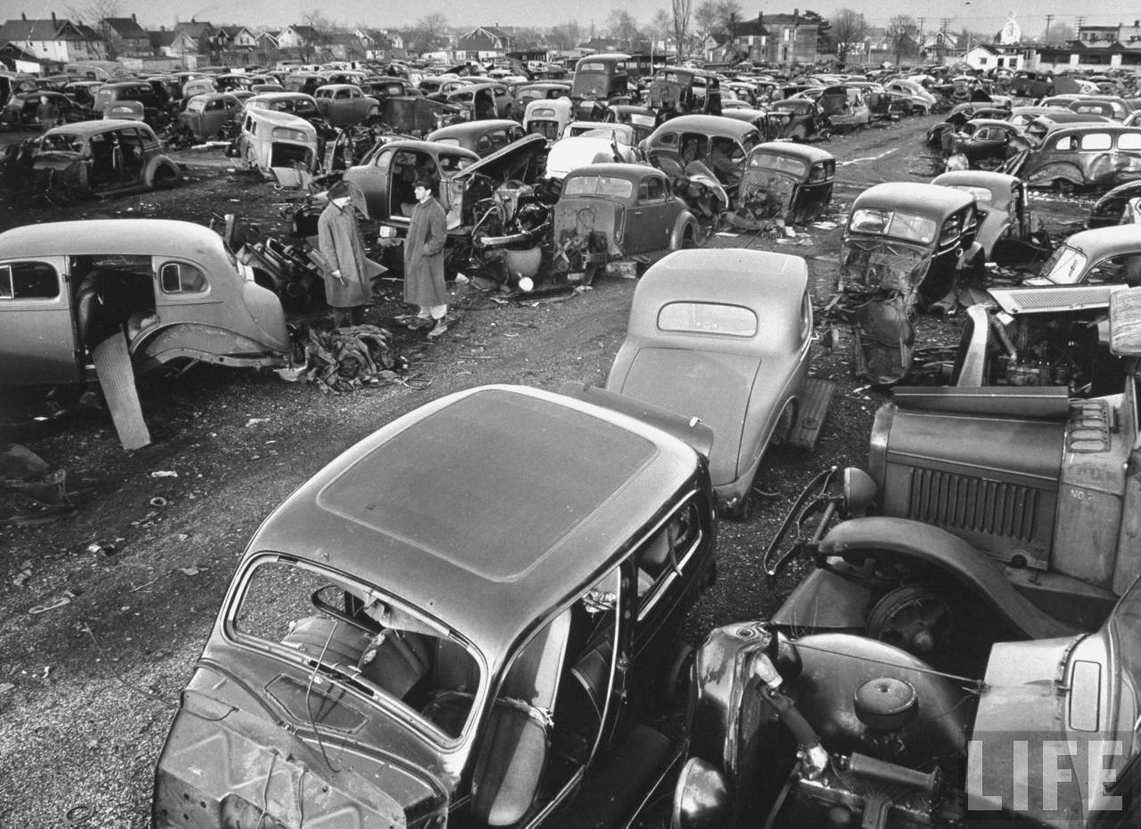 History - Old Time Junk Yard Photos PIX 1920 to 1970 | Page 51 | The ...