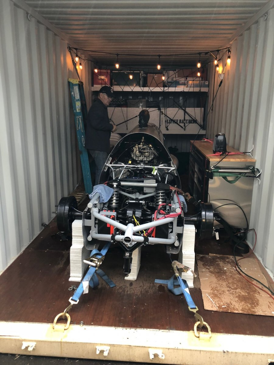 Lindsay's car in container.jpg