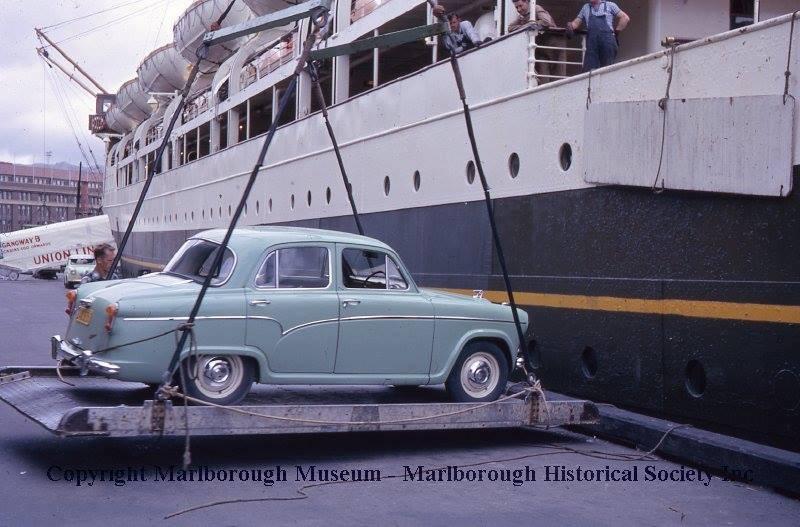 Loading Tamahine at Wgtn early 60s.jpg