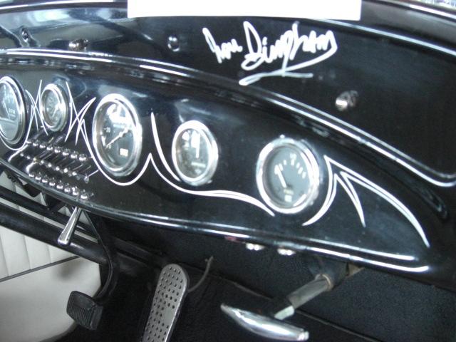 Lou Bingham Coupe @ R&S Auction Scottsdale Jan 2010 - Dash (by Al Liebmann).jpg