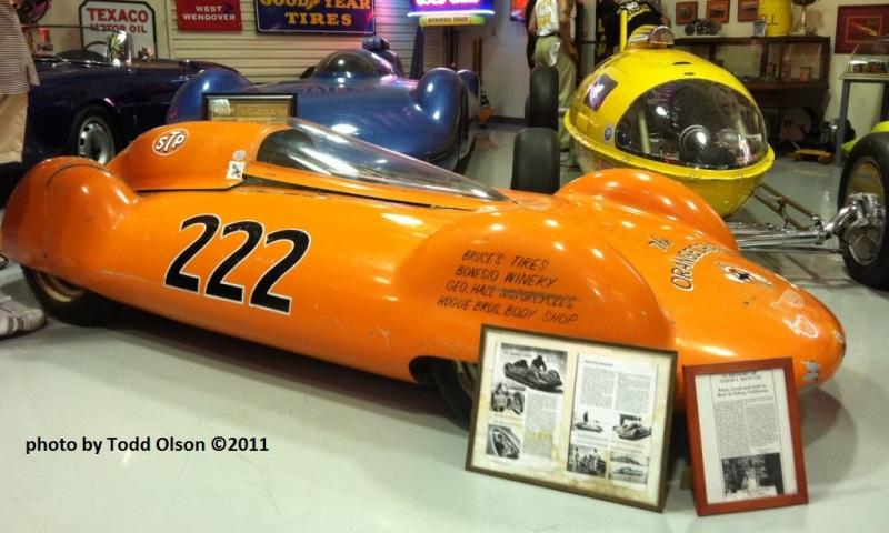 Louie Bonesio's #222 Orangecrate I 'liner (with Triumph) @ Speed Nymph Garage '11.jpg