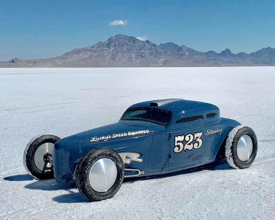 Lucky Burton's Chrisman Coupe on the Salt - Bonneville Speed Week - August 2019.jpg