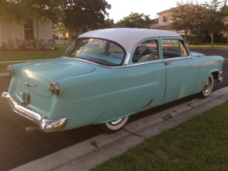 1954 ford mainline the h a m b for 1954 ford mainline 2 door sedan sale
