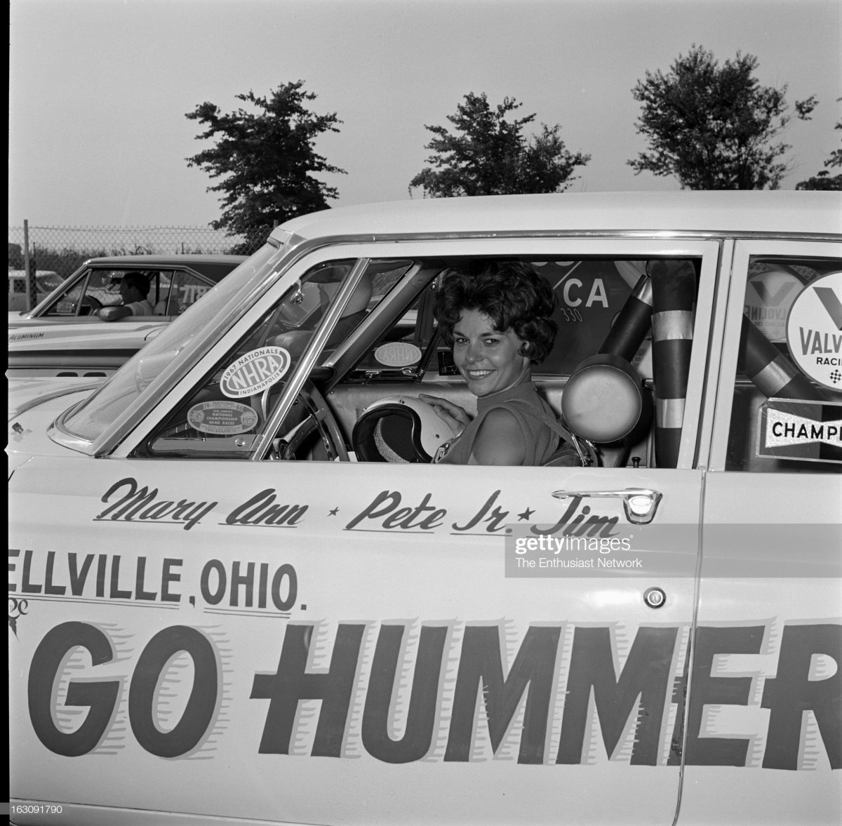 Mary Ann Foss in the GO HUMMER Dodge..jpg
