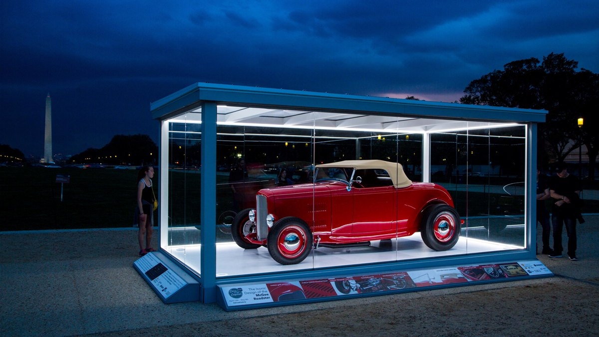 McGee Roadster on the Mall at Night.jpg