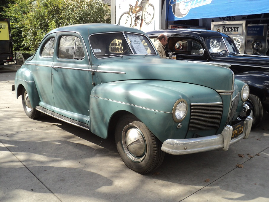 McGrath, Bill '41 Merc. Opera Coupe 4 sale @ 64th GNRS Pomona CA 1-27-2013 email pix (2).jpg