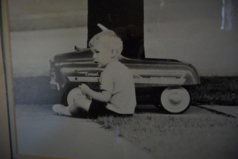 Me &pedal car (Custom) (2).jpg