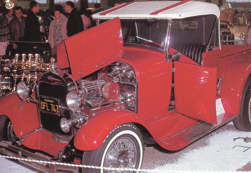 Mel Taormino '29 RPU at 1963 Winternationals car show (by Andy Southard Jr.).jpg