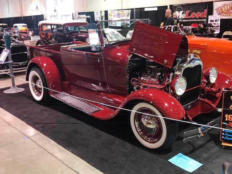Mel Taormino's '29 RPU in the 'Model A Room' at the 2019 GNRS.jpg