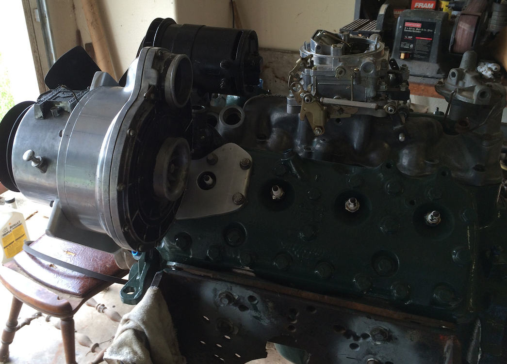 History - Friend Claims 1949 Factory Supercharged Ford Flathead V8