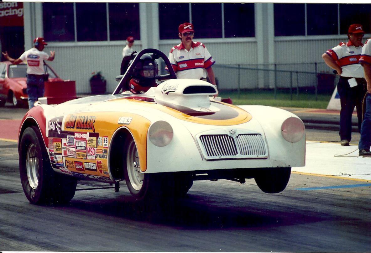 1958 MGA roadster drag car (old survivor) | The H.A.M.B.