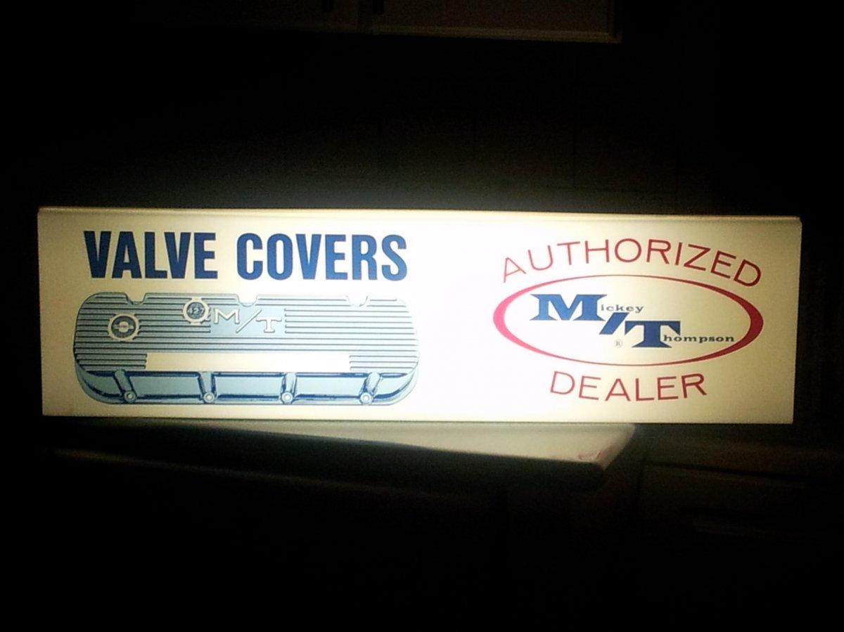 Mickey Thompson valve cover dealer sign lit up.jpg