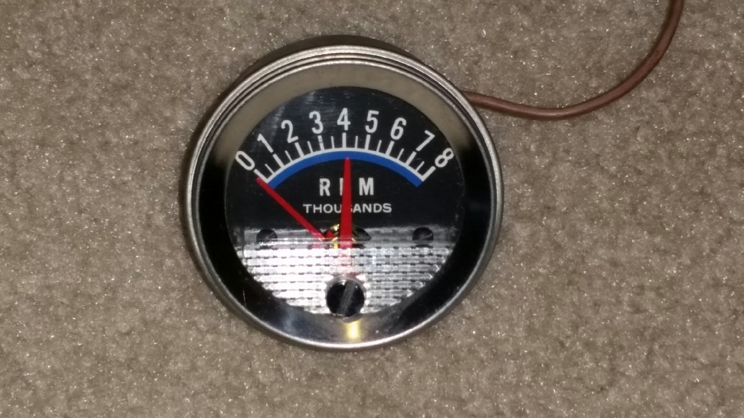features love for vintage tachometer design page 2 the h a m b,Vintage Dixco Tachometer Wiring