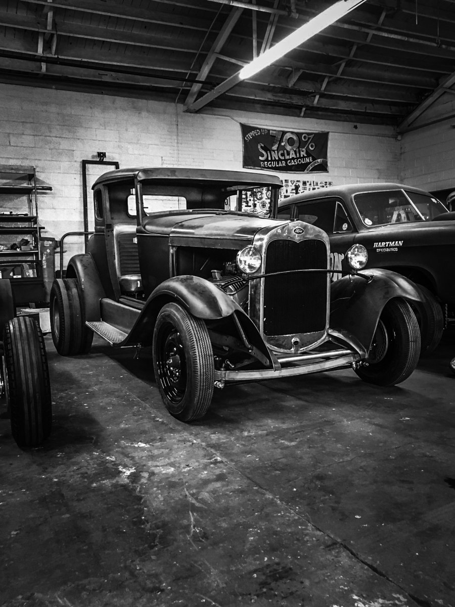Model A Coupe SS Black and White.jpg