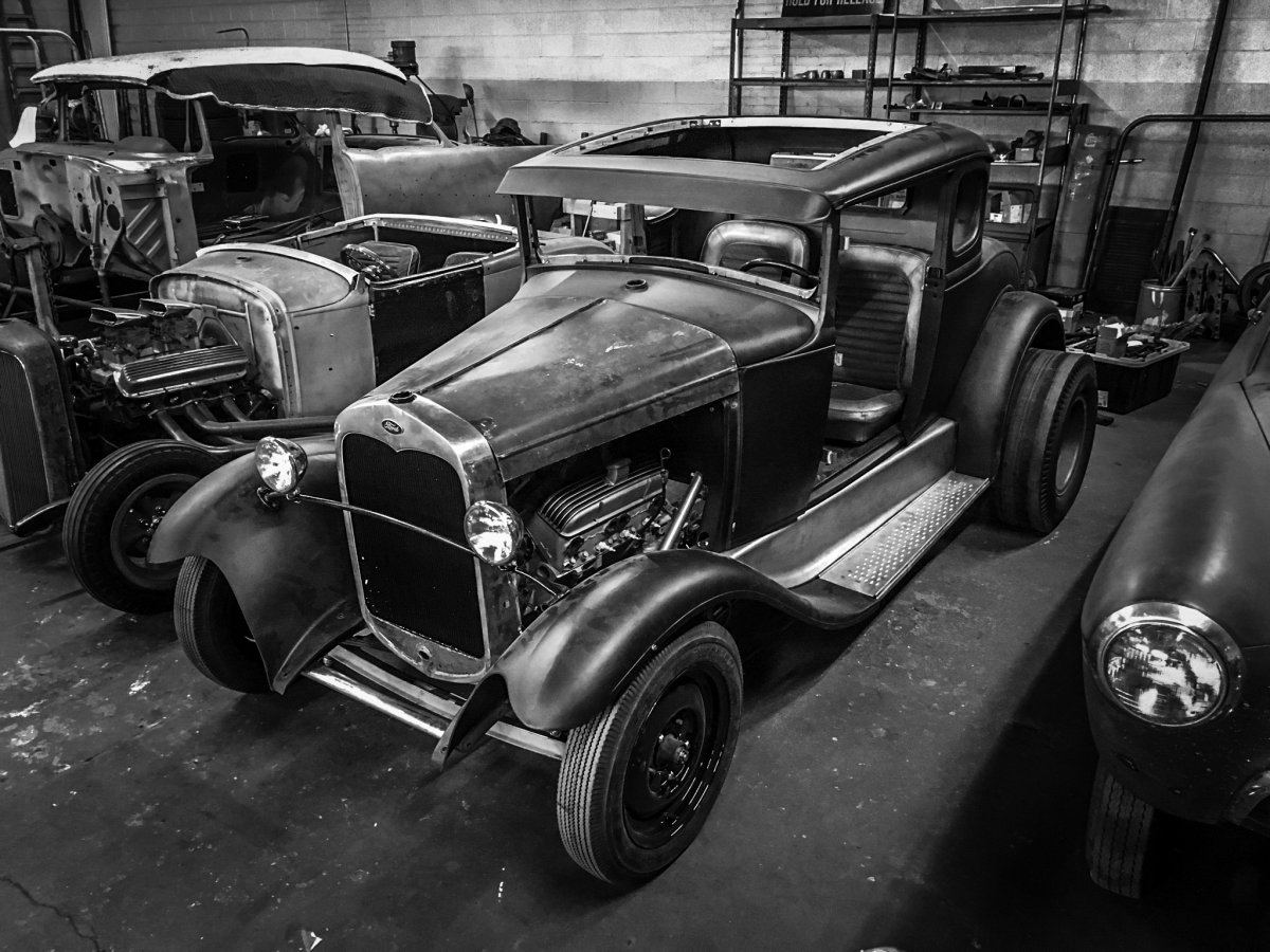 Model A Coupe SS Black & White.jpg