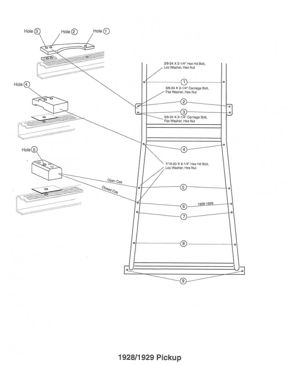 Model A Ford Body Mount Blocks for 1928-1929 Pickup Installation Instructions - AWD1006.jpg