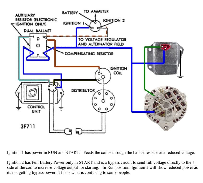 mopar alternator question the h a m b rh jalopyjournal com chrysler 300 alternator wiring chrysler 318 alternator wiring