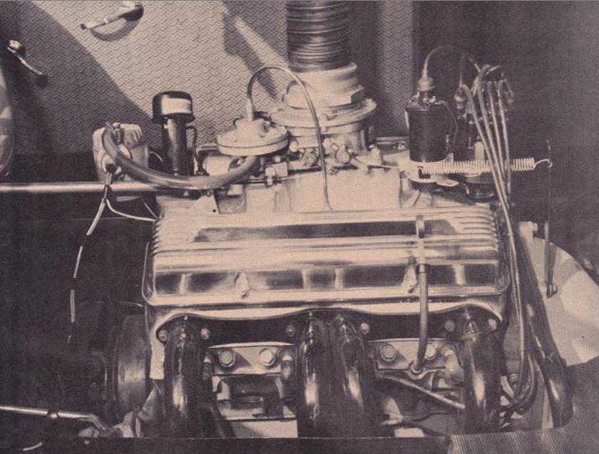 mr j's custom headers rear engine.JPG