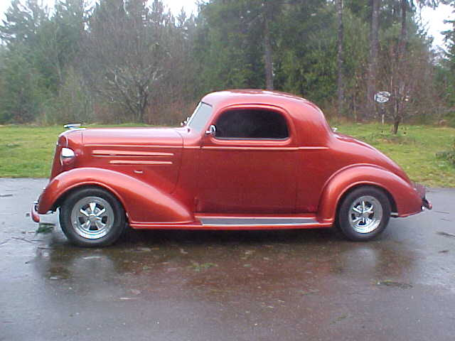 1936 Chevrolet 3 window coupe | The H.A.M.B.