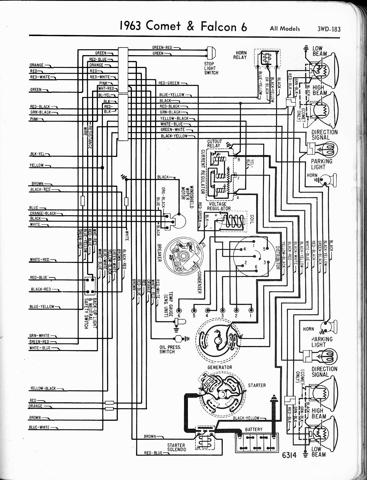 62 ford ignition wiring ? the h a m b ba falcon engine wiring diagram at creativeand.co