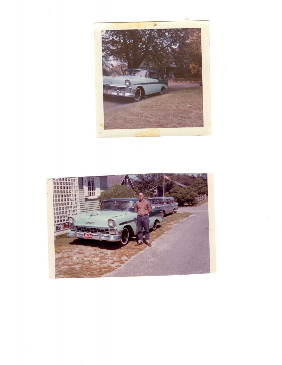 My 1956 Bel Air, summer of 1964.jpg